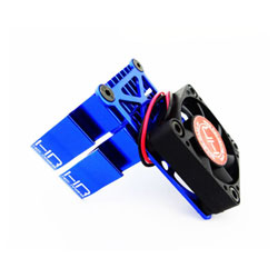 HRAMH550TE06 Clip-On Two-Piece Motor Heat Sink W/ Fan (Blue)