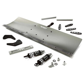 INTC29092GREY Alloy Machined 500mm Snowplow Kit for Arrma 1/8 Kraton 6S BLX