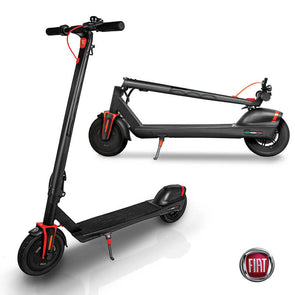 FIAT Folding Electric Scooter Vesuvio Black