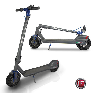 FIAT Folding Electric Scooter Granito Grey