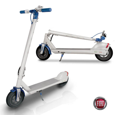 FIAT Folding Electric Scooter Bianco White