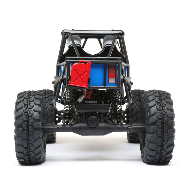 LOS03015T1 Night Crawler SE, Blue: 1/10 4wd Rock Crawler RTR