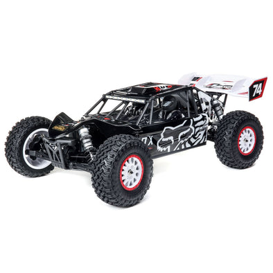LOS03027T2 Tenacity DB Pro, Fox Racing Smart: 1/10 4WD RTR