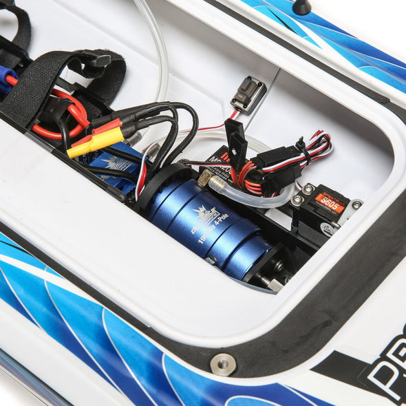 "PRB08032T1 Sonicwake 36"" Self-Righting Brushless Deep-V RTR, White"