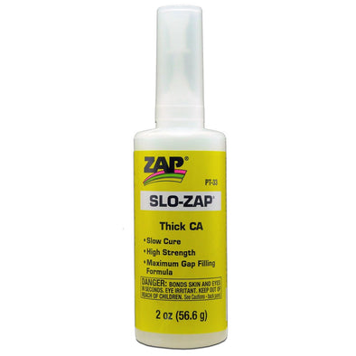 ZAP SLO-ZAP THICK CA - YELLOW - 2 OZ