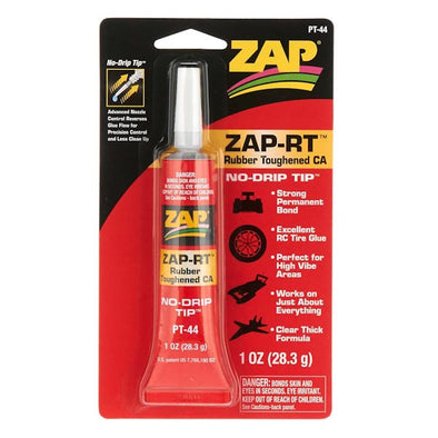 ZAP RT RUBBER TOUGHENED CA 1 OZ.