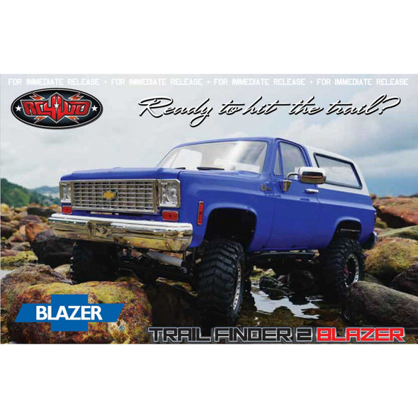1/10 Trail Finder 2 Truck Brushed RTR, Chevy Blazer Body (Limited Edition)