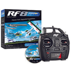 RealFlight 8 Horizon Hobby Edition(RF9 Free update via internet)