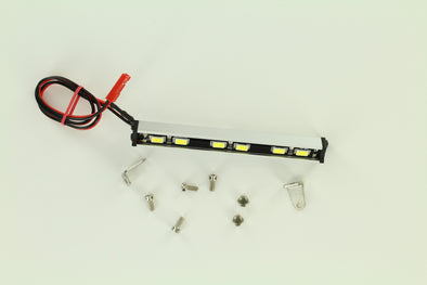 ROCK LIZARD DESIGNS 87MM ALUMINUM HI-BRIGHT LED LIGHT BAR 7.2V-12V SILVER RLD-L18005S