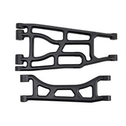 Upper & Lower A-arm Pair, Black: Traxxas X-Maxx