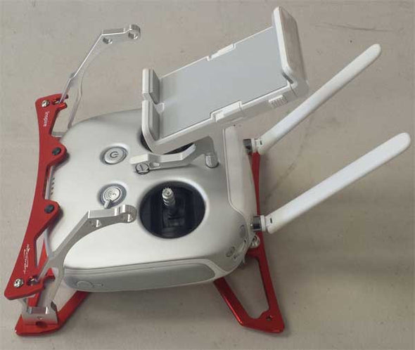 SECRAFT TRANSMITTER TRAY V1 FOR INSPIRE 1 - RED