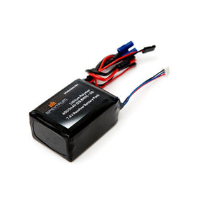 SPMB4000LPRX 4000mAh 2S 7.4V LiPo Receiver Battery