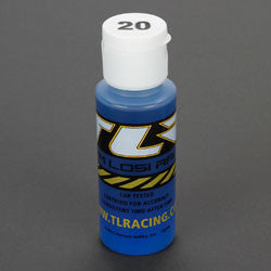 TLR74002 Silicone Shock Oil, 20 wt, 2 oz