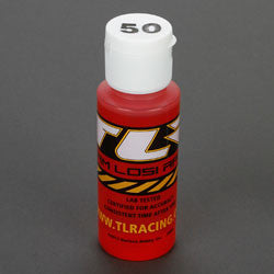 Silicone Shock Oil, 50wt, 2oz