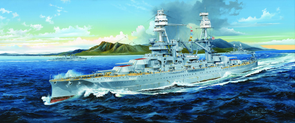 03701 Trumpeter 1/200 USS Arizona BB-39 1941