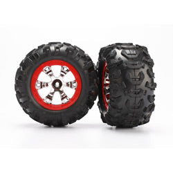 Geode Wheels,Red & Canyon AT Tires(2):1/16 Summit