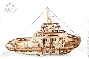 UGears Tugboat - 169 pieces (Easy)