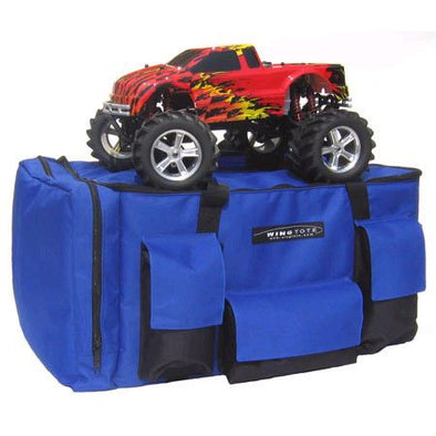 WGT401 Car/Truck Standard Tote, Blue: 1/8 Monster Truck