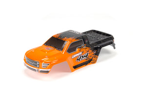 AR402208 Body Painted/Decal Orange GRANITE 4x4 BLX