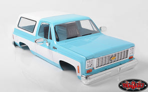 Z-B0148 RC4WD CHEVROLET BLAZER HARD BODY COMPLETE SET (LIGHT BLUE)