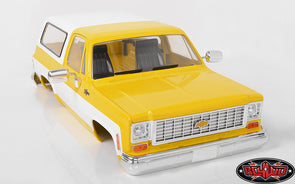 Z-B0152 RC4WD CHEVROLET BLAZER HARD BODY COMPLETE SET (YELLOW)