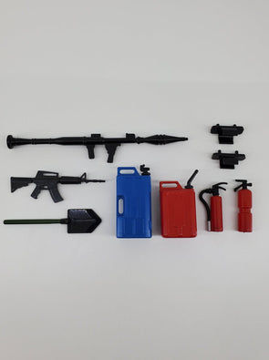 ZH-ACC-020B RC Rock Crawler Accessory for Military Red/Blue