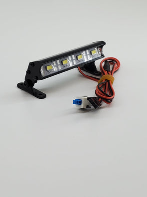 ZH-L-051-4 1/10 Aluminum Light Bar 4 LEDs Black