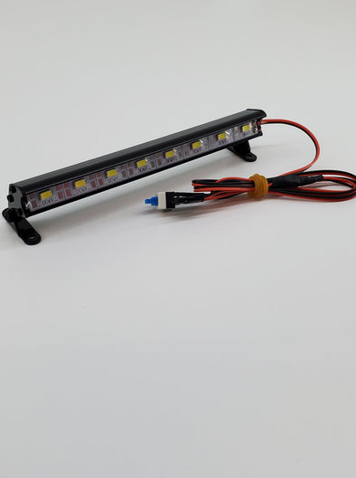 ZH-L-051-8 1/10 Aluminum Light Bar 8 LEDs Black
