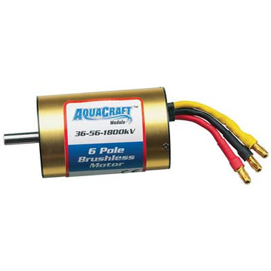 Brushless 6-Pole Marine Motor 36-56-1800