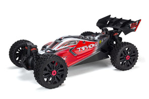 AR402274 TYPHON 4X4 BLX PAINTED DECALED TRIMMED BODY (RED)