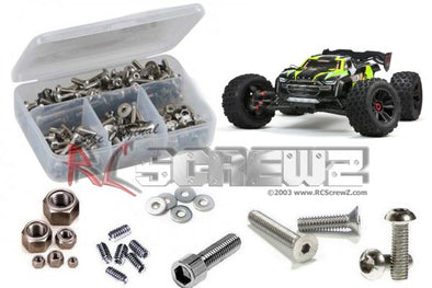 ara022 – Arrma Kraton 8s 1/5th (#110002) Stainless Screw Kit