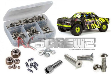 ara023 – Arrma Mojave 6s BLX 1/7th (#ARA106058) Stainless Screw Kit