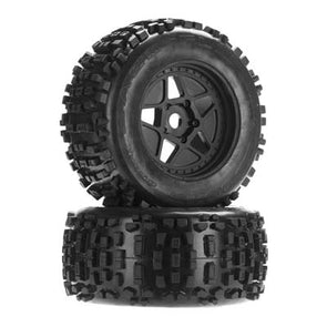 AR510092 dBoots Backflip MT 6S Tire Wheel Set -ARAC8795