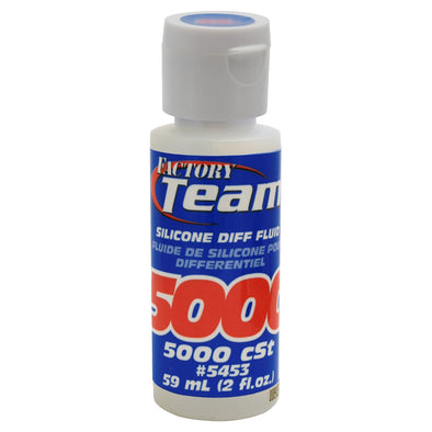 5453 Team Associated Silicone Differential Fluid (2oz) (5,000cst)
