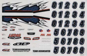 21373 Decal Sheet 18LM