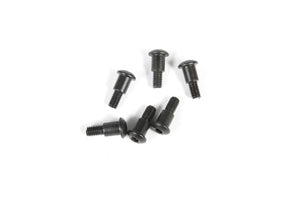 AX31403 M3x4x10mm Hex Socket Button Head Shoulder Screw (Black) (6pcs)