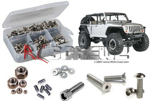 axi009 – Axial SCX10 Jeep Wrangler Rubicon (#90028) Stainless Screw Kit