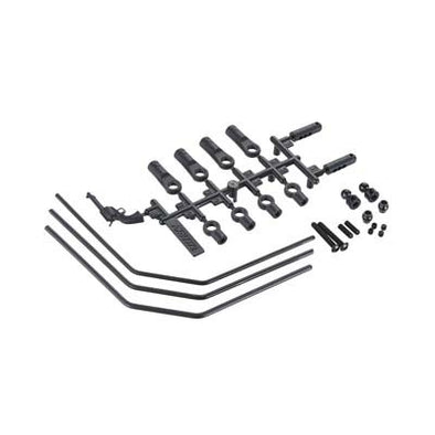 AX31251 Front Sway Bar Set (Soft/Med/Firm) Yeti XL