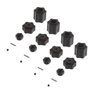 AX31074 Hex Hub Conv Set (12mm)(4pcs) 9026/Wraith