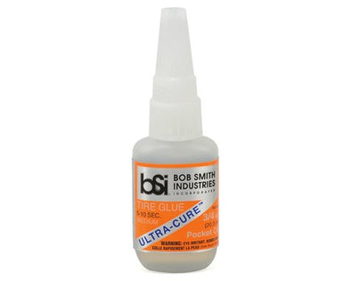 Bob Smith Industries Ultra-Cure Medium CA Tire Glue w/Pin Cap BSI130