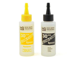 Bob Smith Industries SLOW-CURE 30 Minute Epoxy (4 1/2oz) BSI205