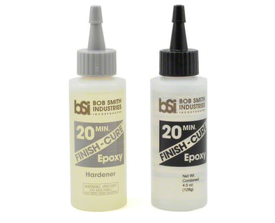 Bob Smith Industries FINISH-CURE 20 Minute Epoxy (4 1/2oz) BSI209