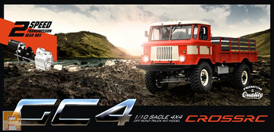 Cross RC 1:10 GC4 4x4 Flatbed Truck
