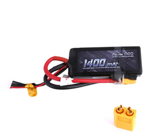 Gens ace 1400mAh 11.1V 50C 3S1P Lipo Battery Pack with XT60 Plug