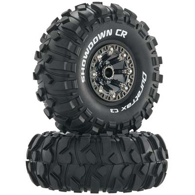 "Showdown CR C3 Mntd 2.2"" Crawler Blk/Chrm (2)"