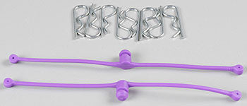 2250 Body Klip Retainers Purple (2)
