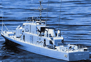 "1218 USS Crocket Gun Boat 51"" Kit"