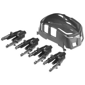 4621 Body/Motor Holder Set Black Proto X/Syncro