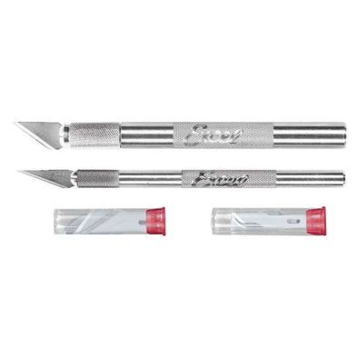 EXL19062 Hobby Knife Set:K1 & K2 with 10 Blades