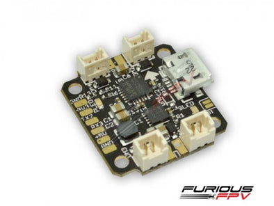 FuriousFPV NUKE Brushed Micro Flight Controller - Vaporize The Competition